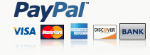 We Accept Paypal Payment
